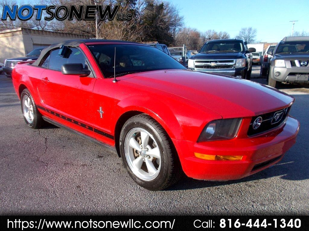 Ford Mustang V6 Premium Convertible 2008