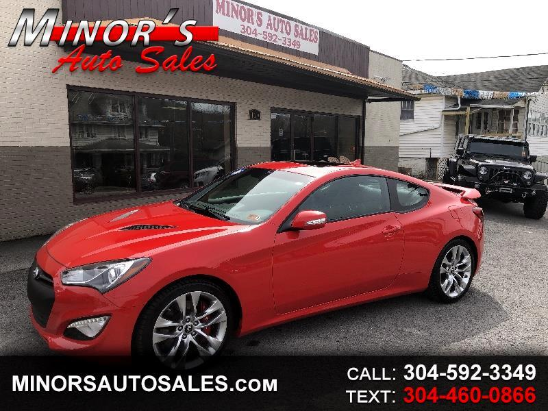 2016 Hyundai Genesis Coupe 3.8 Ultimate 8AT