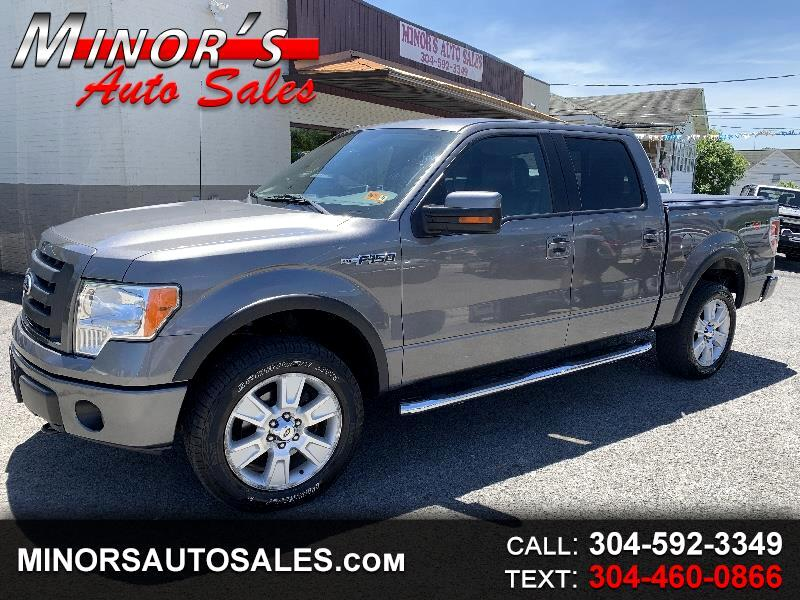 2010 Ford F-150 FX4 Super Crew Short Bed 4wd