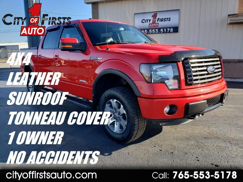 "2012 Ford F-150 4WD SuperCrew 139"" FX4"