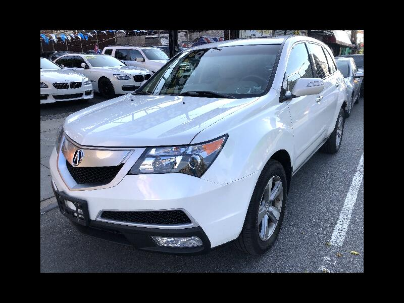 2012 Acura MDX 4dr SUV Touring Pkg w/Navigation