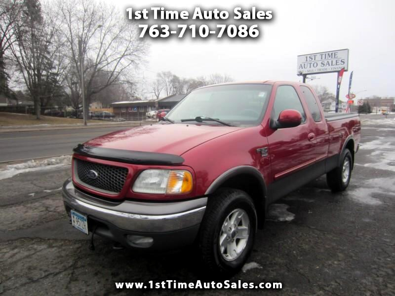 2002 Ford F-150 FX4 SuperCab 6.5-ft. Bed 4WD