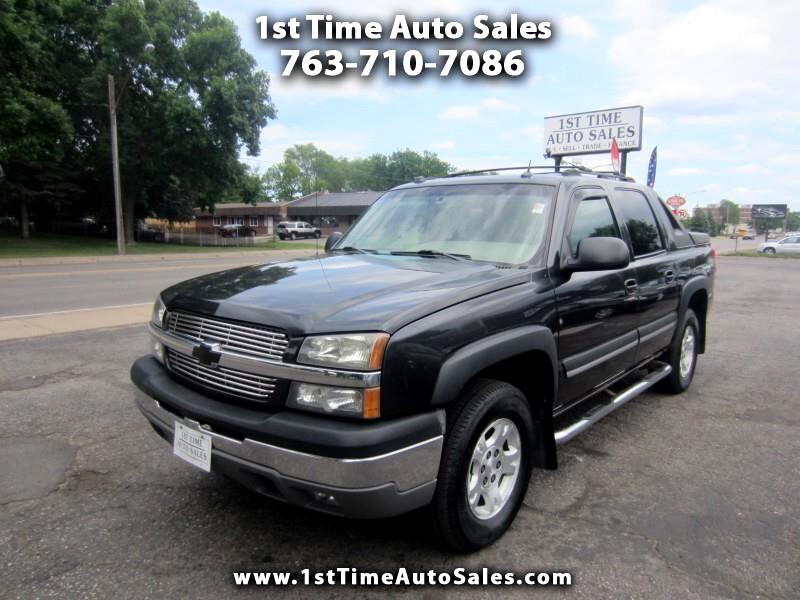 2004 Chevrolet Avalanche 4WD Crew Cab LT