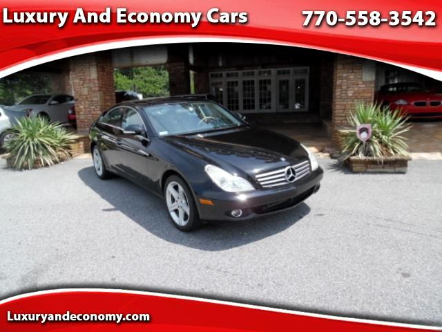2006 Mercedes-Benz CLS-Class CLS500 4-Door Coupe