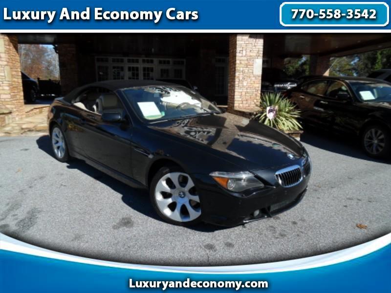 2005 BMW 6-Series 645Ci Convertible