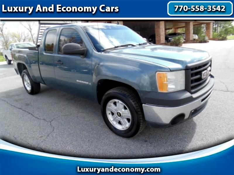 GMC Sierra 1500 Work Truck Ext. Cab Long Box 2WD 2009