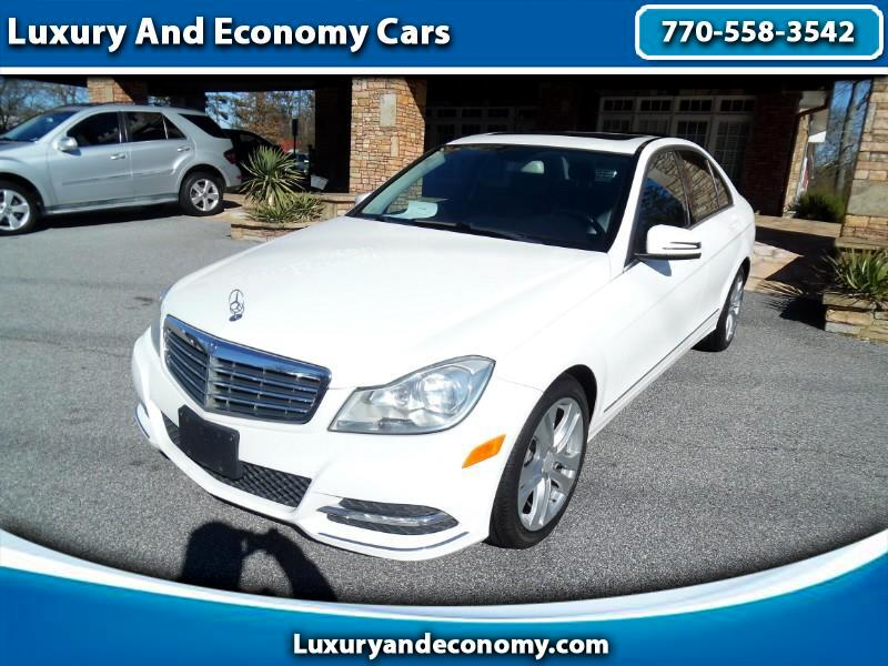 Mercedes-Benz C-Class C300 4MATIC Sport Sedan 2013