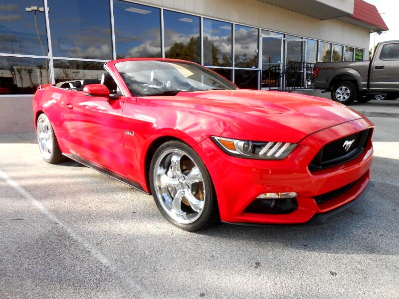 2017 Ford Mustang GT Convertible Supercharged
