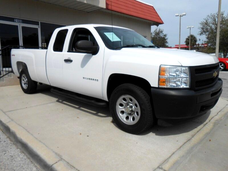 2010 Chevrolet Silverado 1500 Ext Cab 4WD Long Bed