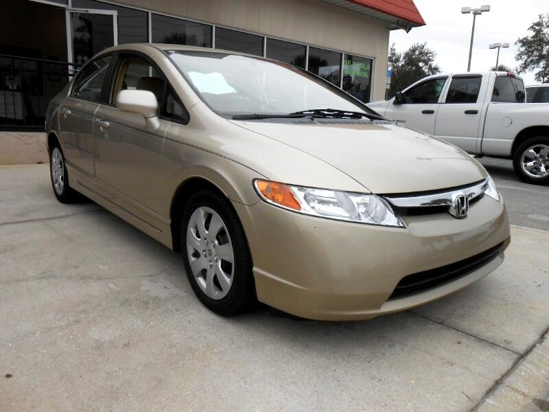 Honda Civic LX Sedan AT 2008