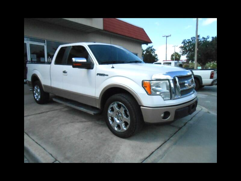 "Ford F-150 2WD Supercab 133"" Lariat 2011"