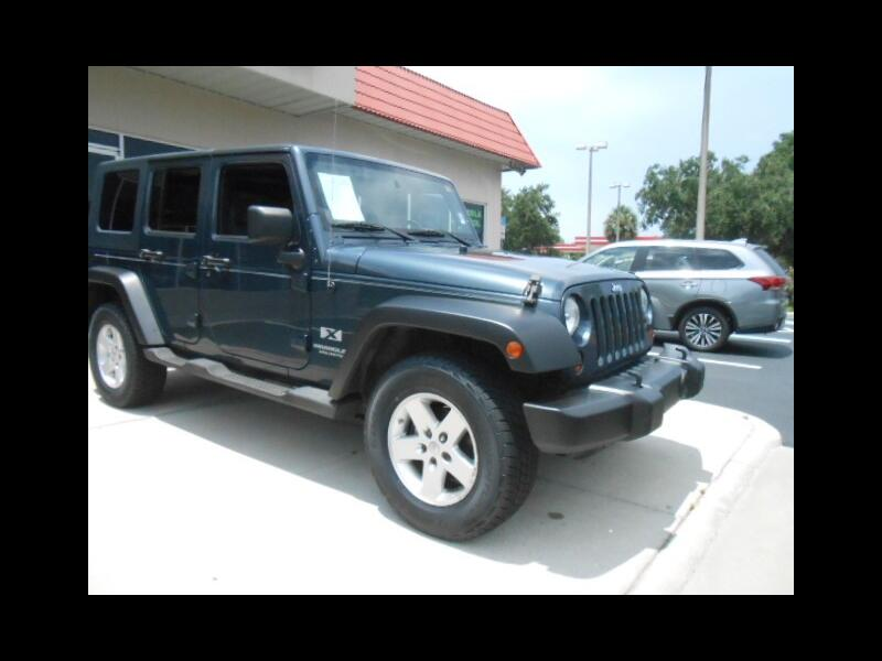 Jeep Wrangler Unlimited X 4WD 2008