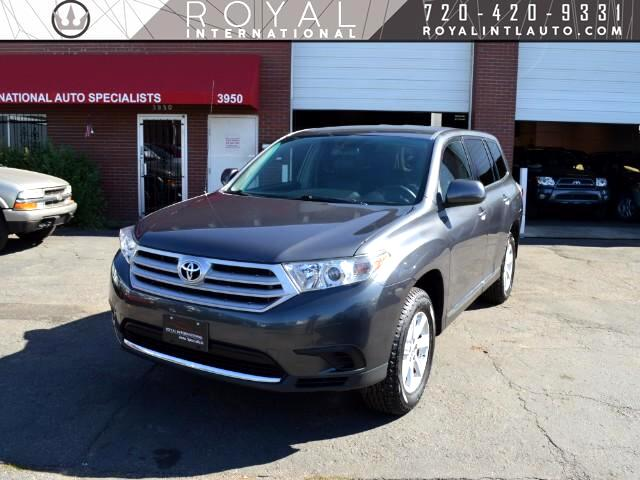 2011 Toyota Highlander Base 2WD I4