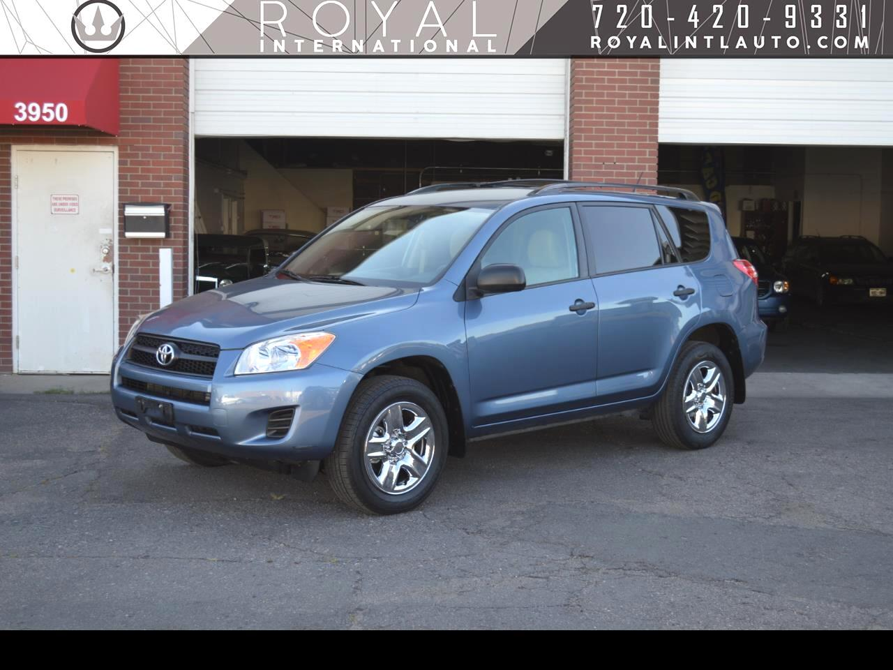Toyota RAV4 Base I4 4WD with 3rd Row 2011
