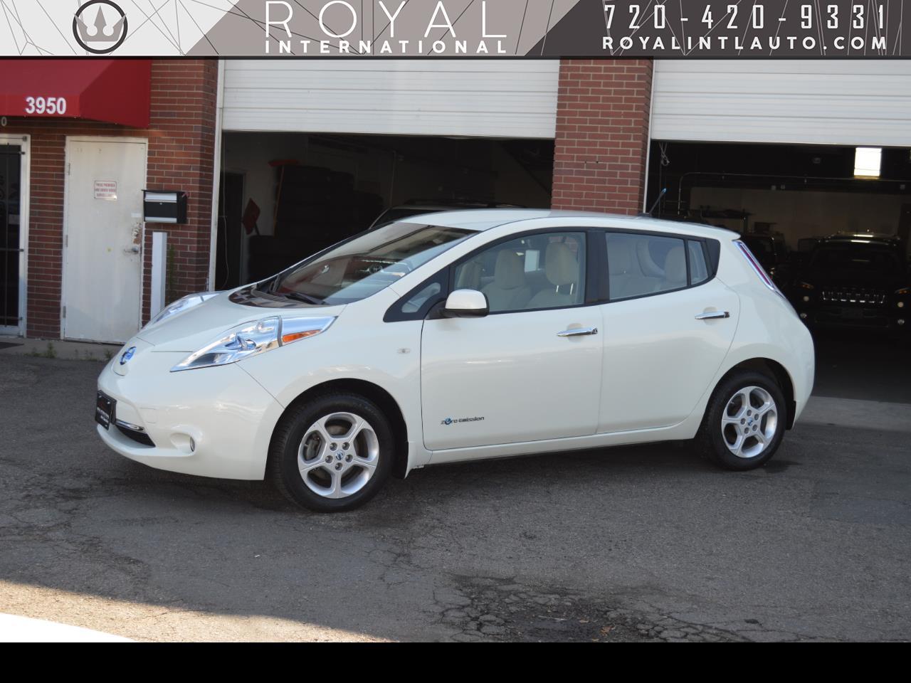 Nissan Leaf SL 2012