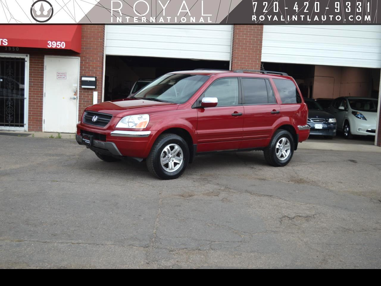 Honda Pilot EX w/ Leather and Nav System 2003