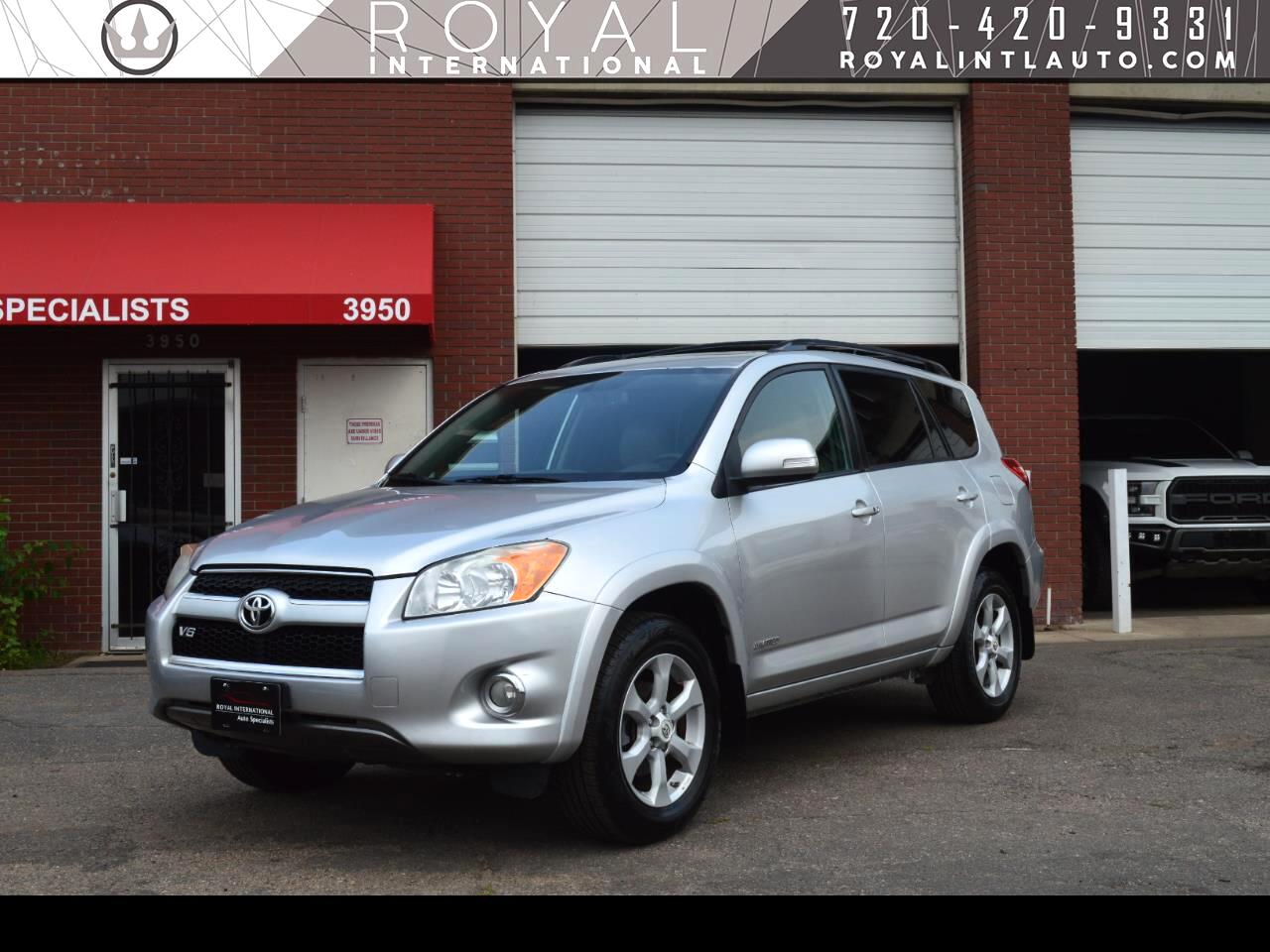 Toyota RAV4 4WD 4dr V6 5-Spd AT Ltd (Natl) 2011