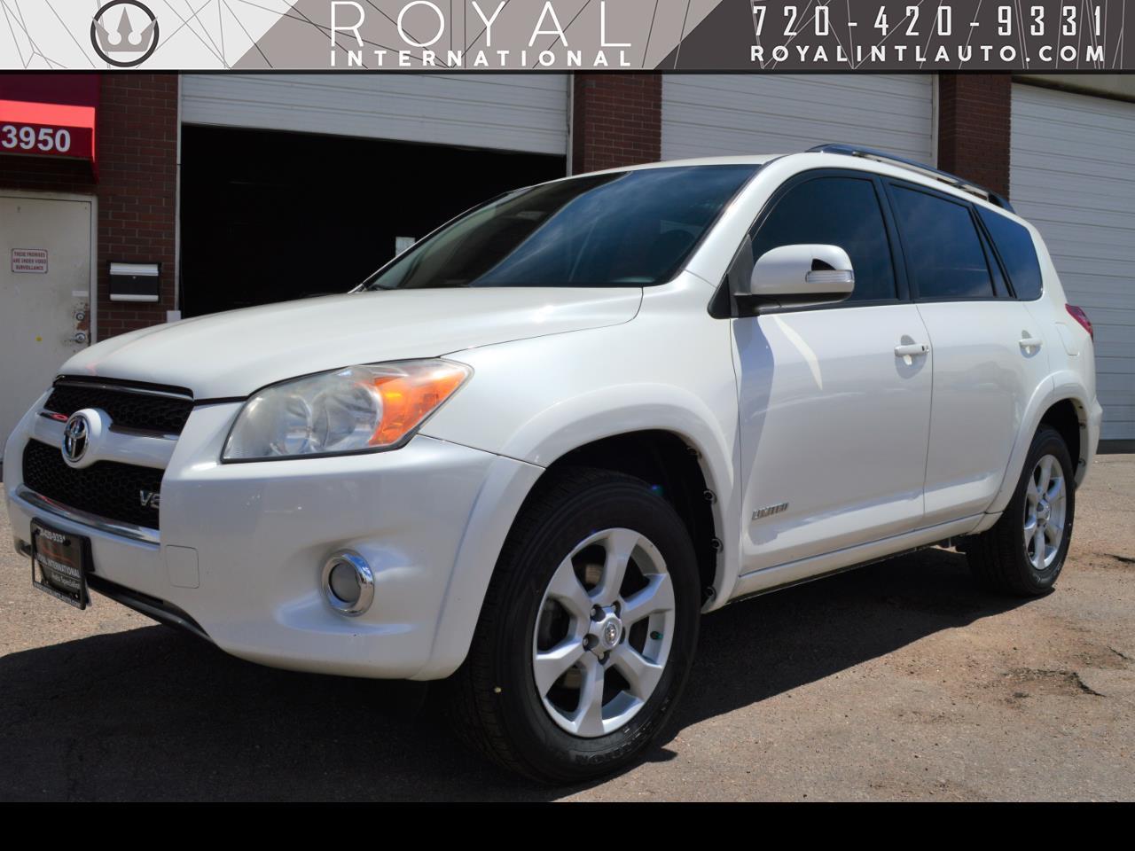 Toyota RAV4 4WD 4dr V6 5-Spd AT Ltd (Natl) 2011