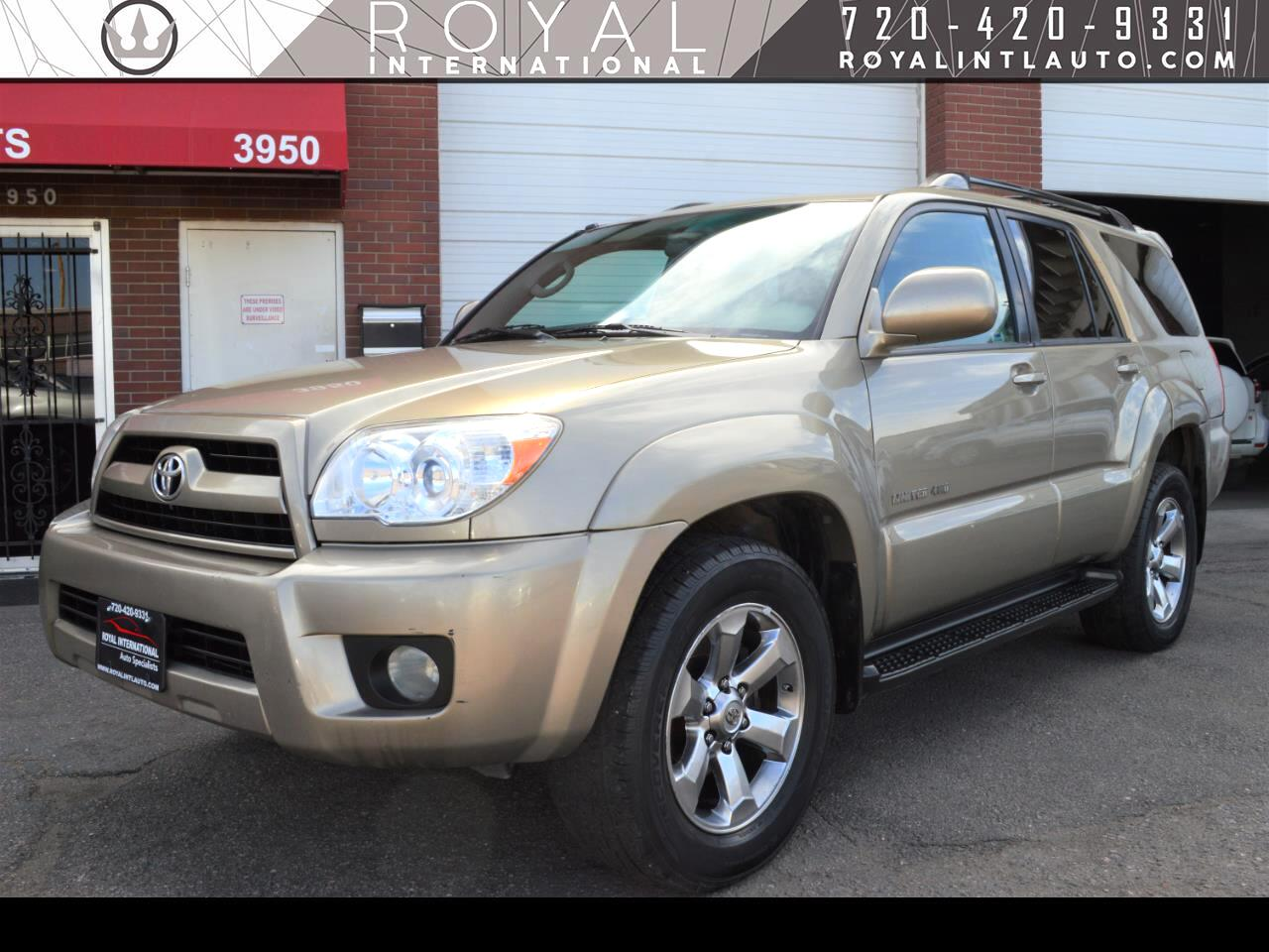 Toyota 4Runner 4dr Limited V6 Auto 4WD (Natl) 2006