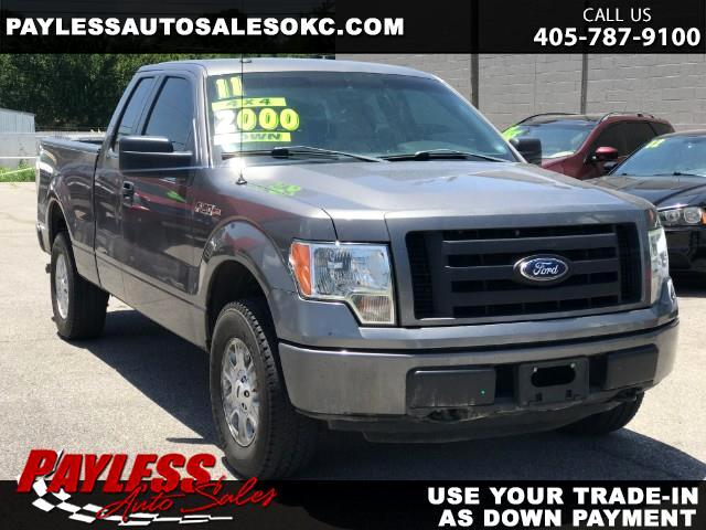 2011 Ford F-150 STX SuperCab 6.5-ft Bed 4WD