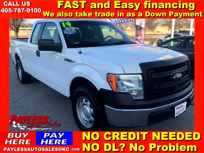 Ford F-150 XL SuperCab 8-ft. Bed 2WD 2014