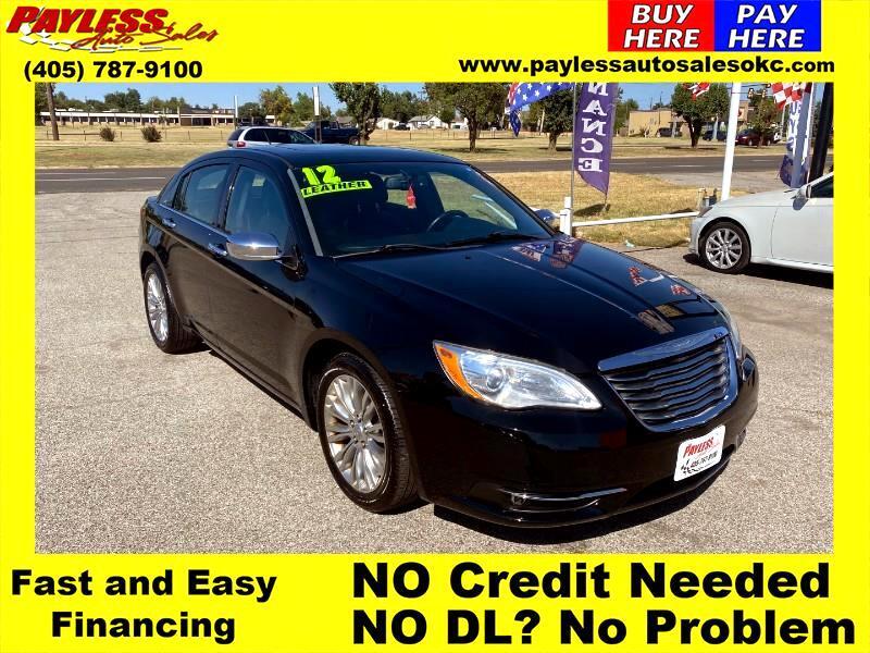 Chrysler 200 Limited 2012