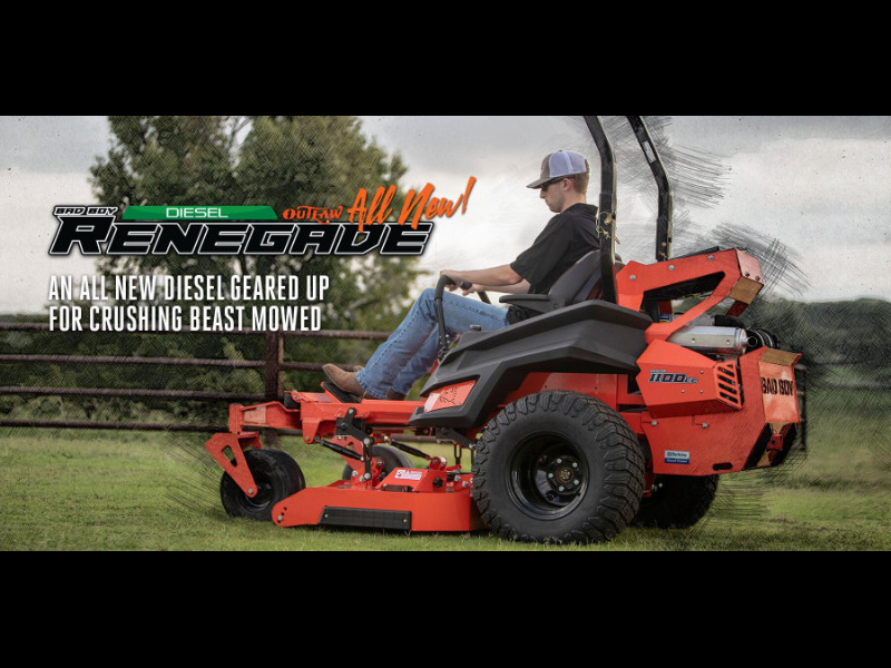 2019 Bad Boy Mowers OUTLAW RENEGADE 72