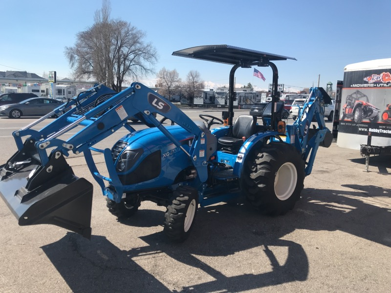 2019 LS XG3135H TRACTOR, LOADER & BACKHOE