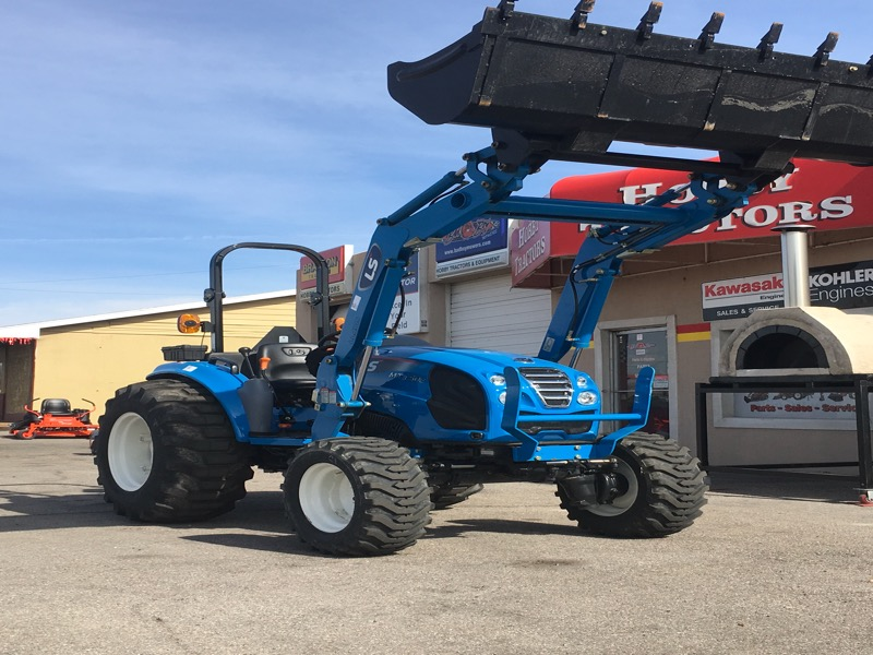 2019 LS MT350E Tractor & Loader