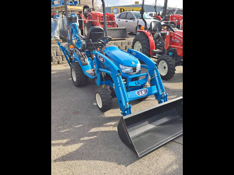 2019 LS MT125H Tractor, Loader, & Backhoe