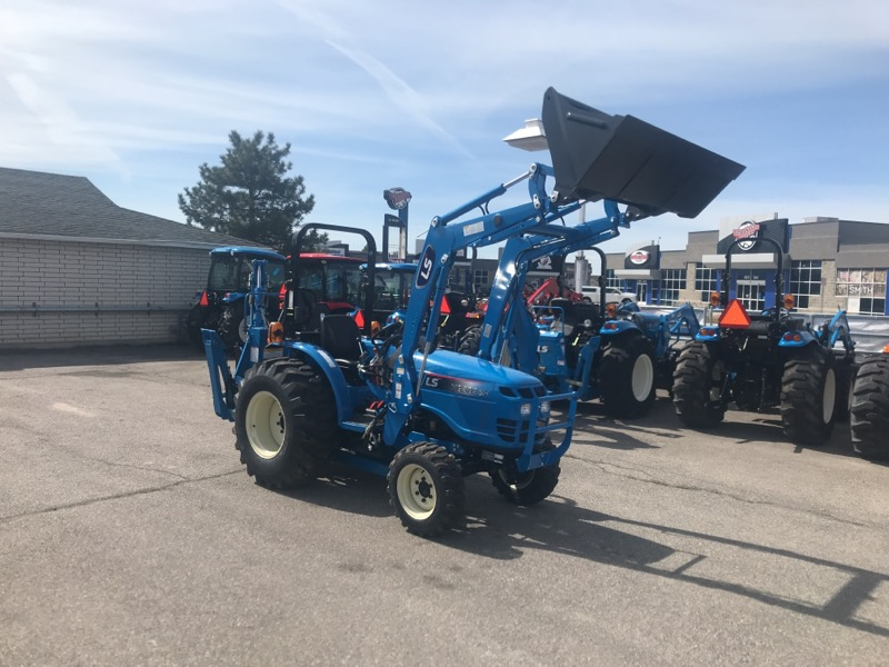 2019 LS XG3025 Tractor, Loader, & Backhoe