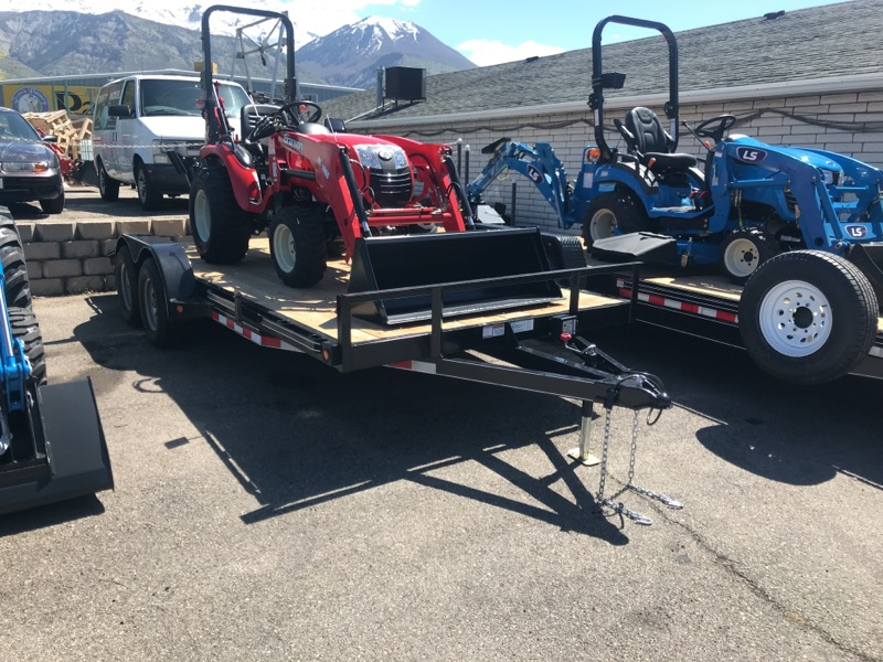 2019 Trailer Universal 18 FT TRAILER WITH RAMPS AND SPARE TIRE