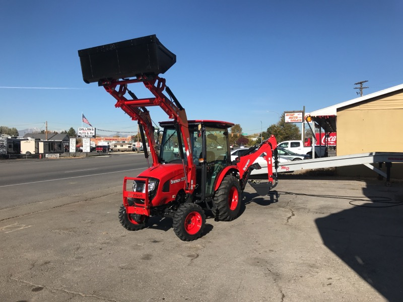 2019 Branson 3515Ch TRACTOR, LOADER, AND BACKHOE