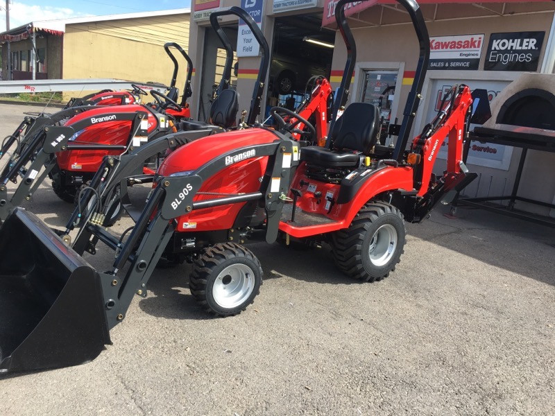 2019 Branson 1905H Tractor, Loader, & Backhoe