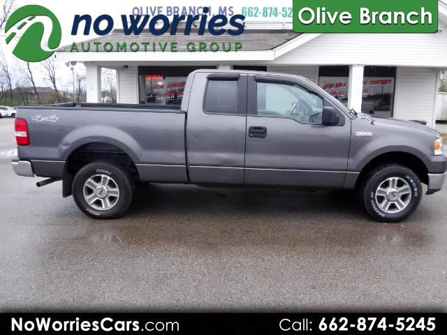 "2005 Ford F-150 4WD SuperCab 145"" XLT"