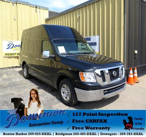 2012 Nissan NV Cargo 2500 HD SV V8 High Roof