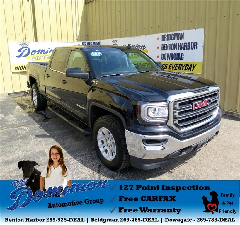 2017 GMC Sierra 1500 SLE Crew Cab Long Box 4WD