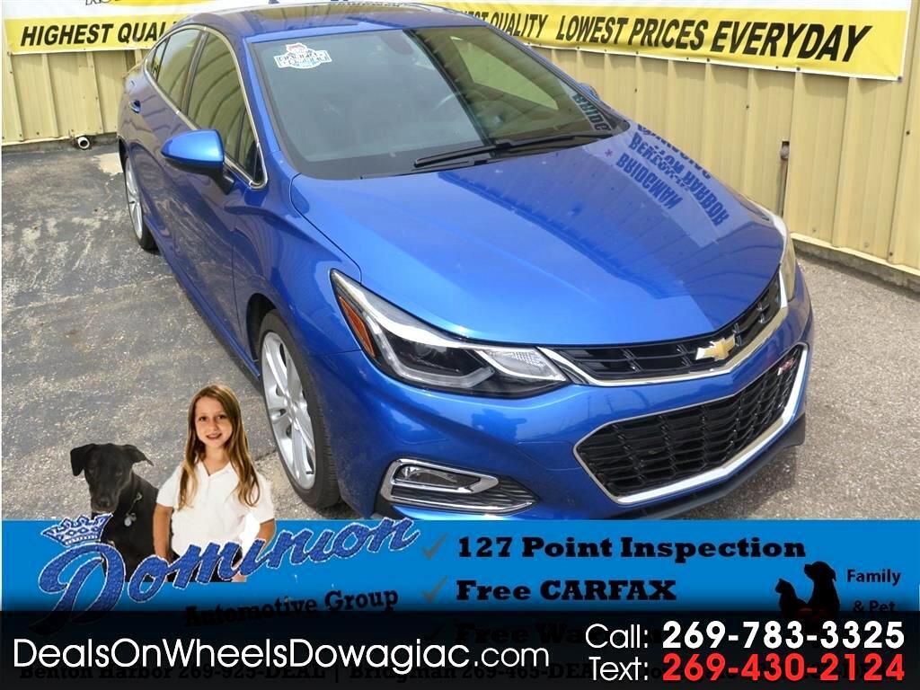 2016 Chevrolet Cruze Premier Auto