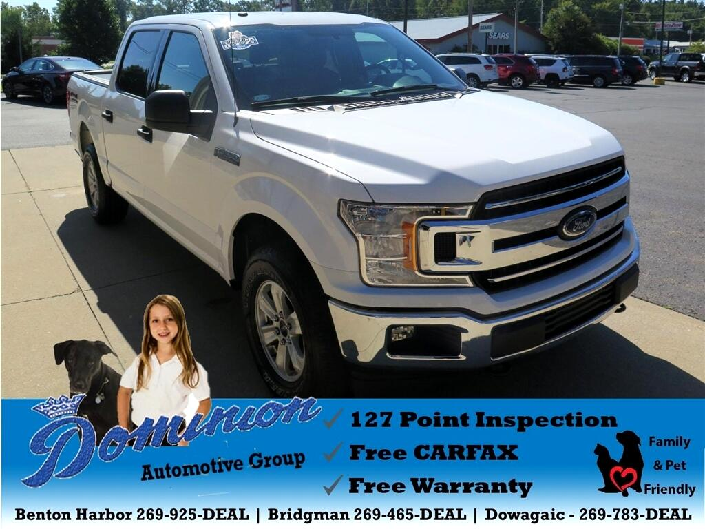 2018 Ford F-150 XL SuperCrew 5.5-ft. Bed 4WD