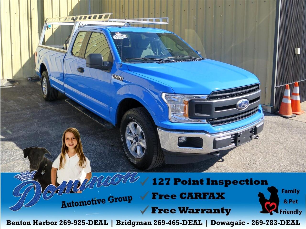 2018 Ford F-150 XL SuperCab 8-ft. Bed 4WD