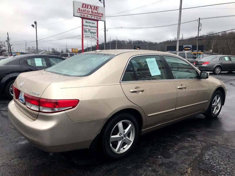 Honda Dealership Louisville Ky >> Used 2004 Honda Accord Sdn EX-L AT for Sale in Louisville KY 40258 Dixie Auto Sales