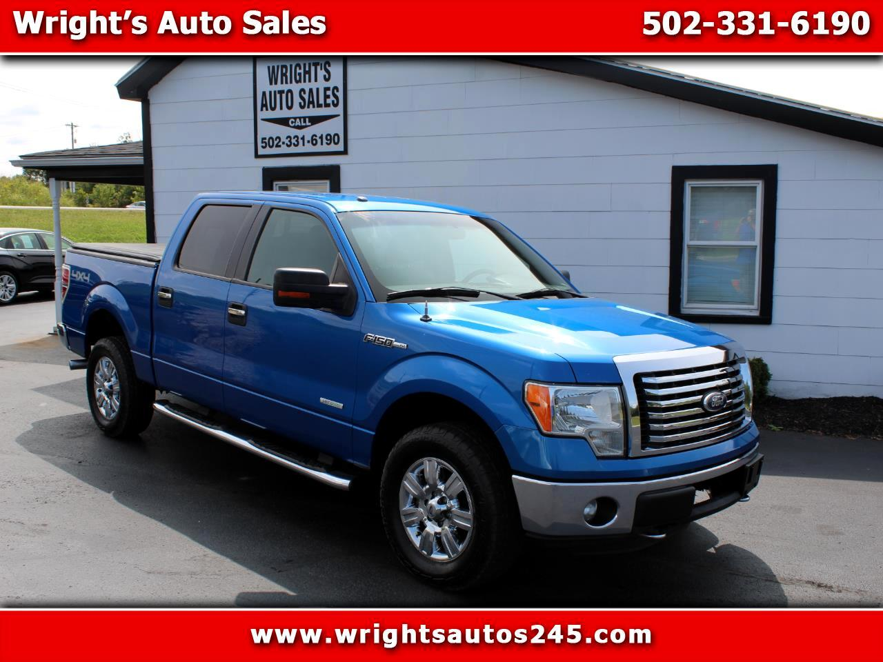 Ford F-150 XLT SuperCrew Short Bed 4WD 2011