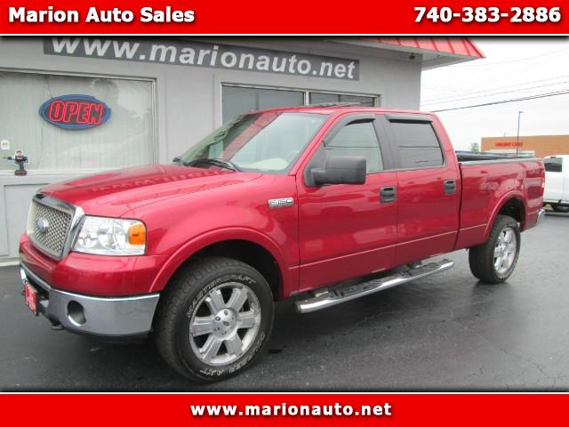 "2007 Ford F-150 SuperCrew Crew Cab 139"" Lariat 4WD"
