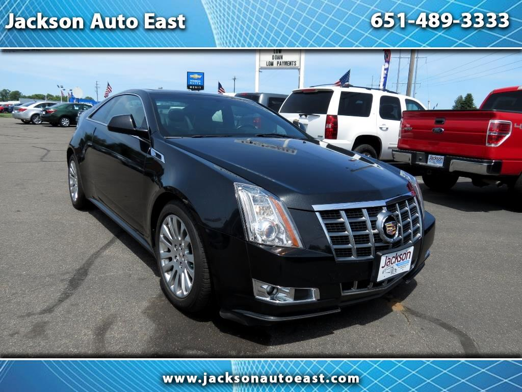 2012 Cadillac CTS Coupe 2dr Cpe Performance AWD