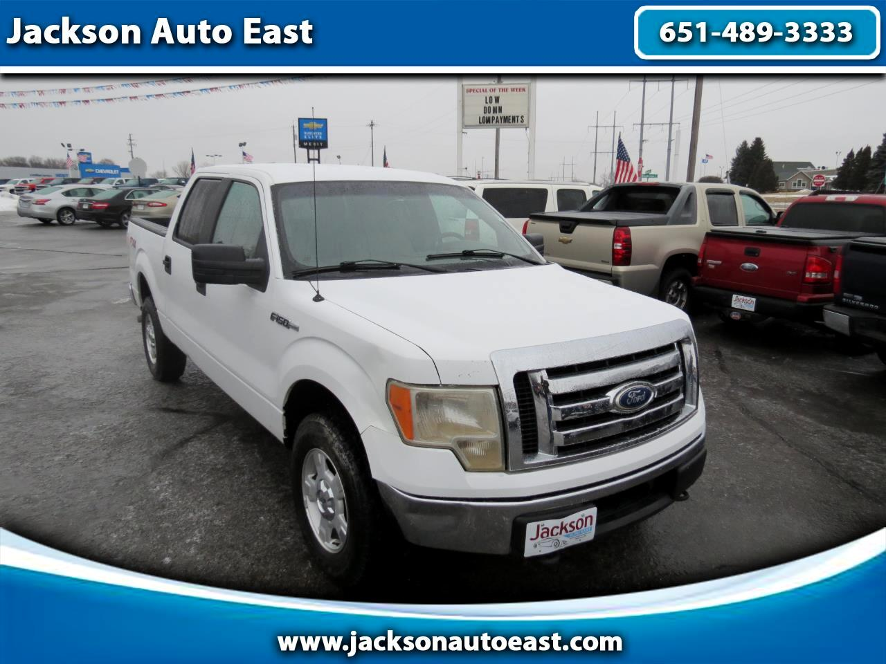 2010 Ford F-150 XLT SuperCrew Short Box 4WD