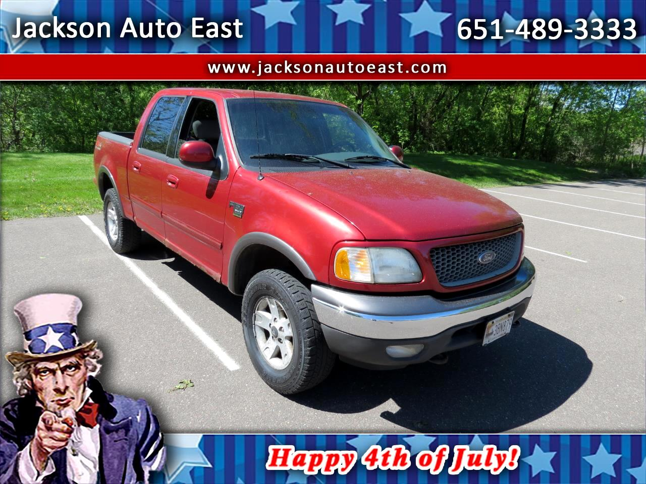 """2003 Ford F-150 SuperCrew 139"""" King Ranch 4WD"""
