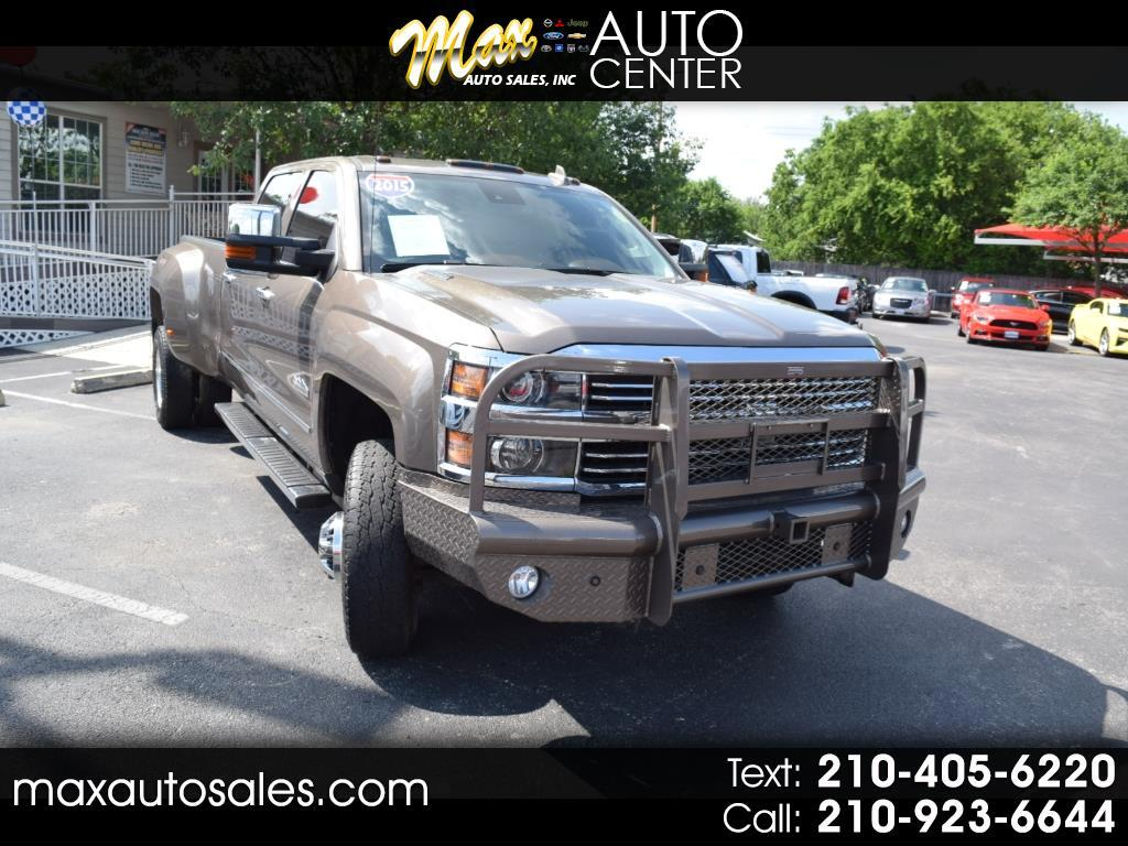 "2015 Chevrolet Silverado 3500HD Built After Aug 14 4WD Crew Cab 167.7"" High Country"