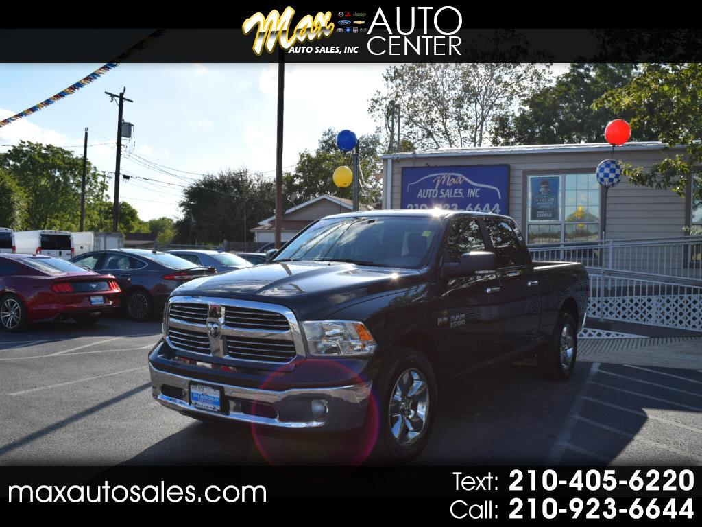 "2017 RAM 1500 Big Horn 4x2 Crew Cab 6'4"" Box"