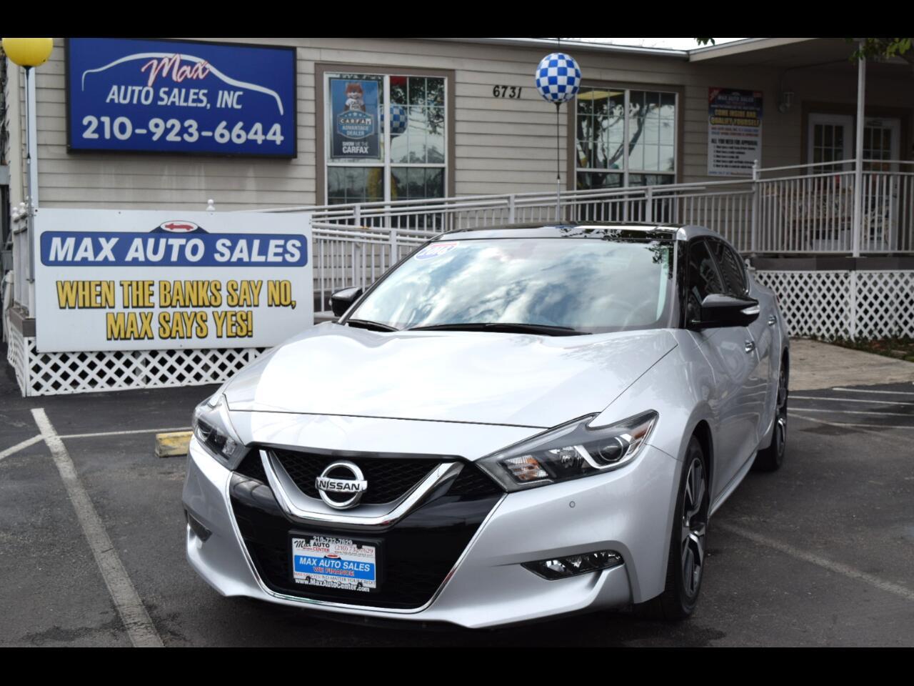 2016 Nissan Maxima 4dr Sdn 3.5 Platinum
