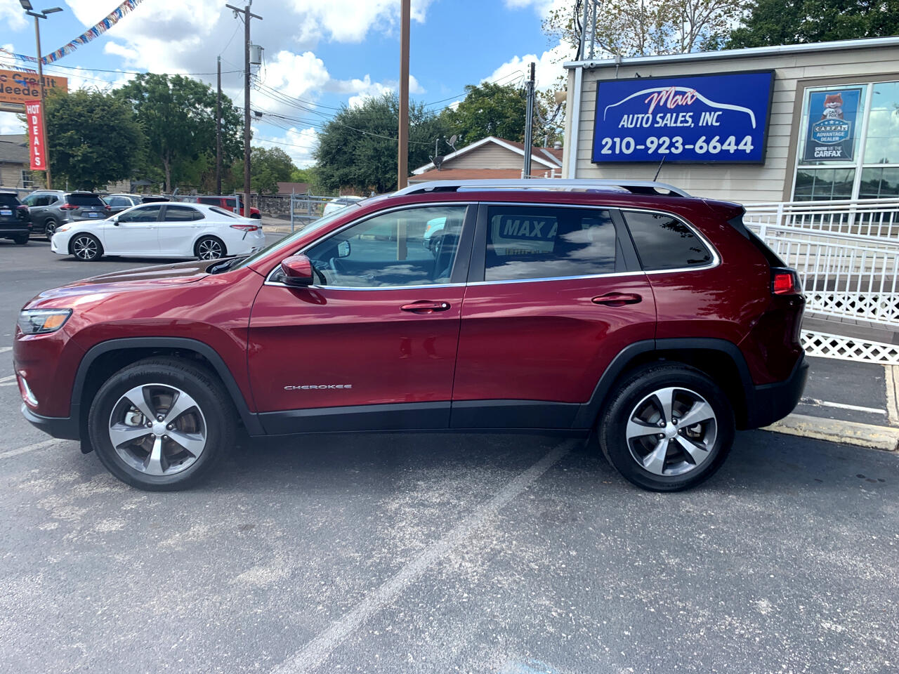 Jeep Cherokee 4dr Limited 2019